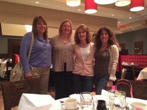 These wonderful ladies are some new friends I made since moving to the country. Boy, do we laugh. Thanks, ladies!