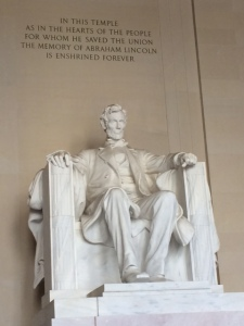 I had a little trouble counting here, but Abe was keeping an eye on everyone.