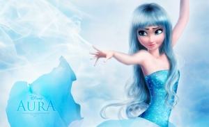 Now, if you're a Disney princess I get the blue hair thing.