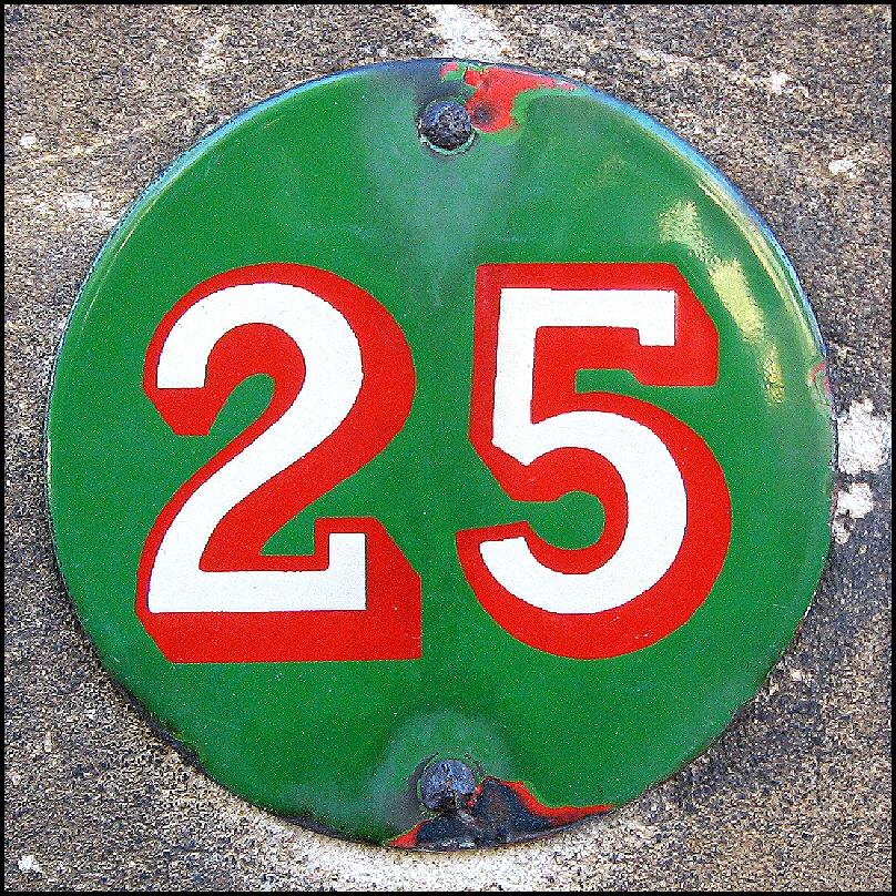 25 button