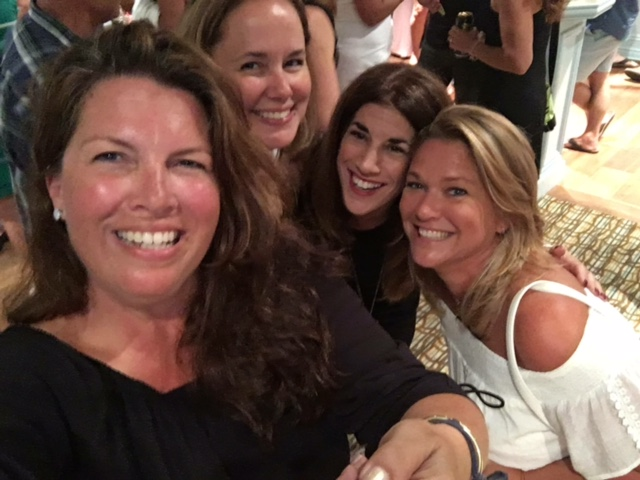 Reunion - Me, Bets, Ginger, Jen